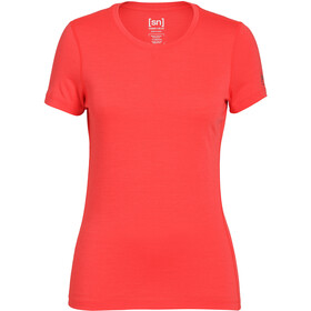 super.natural Base T-Shirt Femme, magma